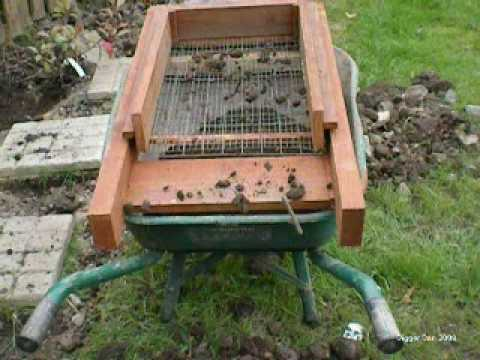 Powered Soil Sifter
