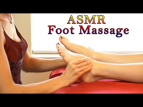Relaxing ASMR Massage # 4 , Softly Spoken & Gentle Whisper Full Body Massage, Foot Massage