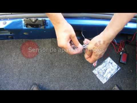Sensor De Aparcamiento Electromagnetico - Instalación