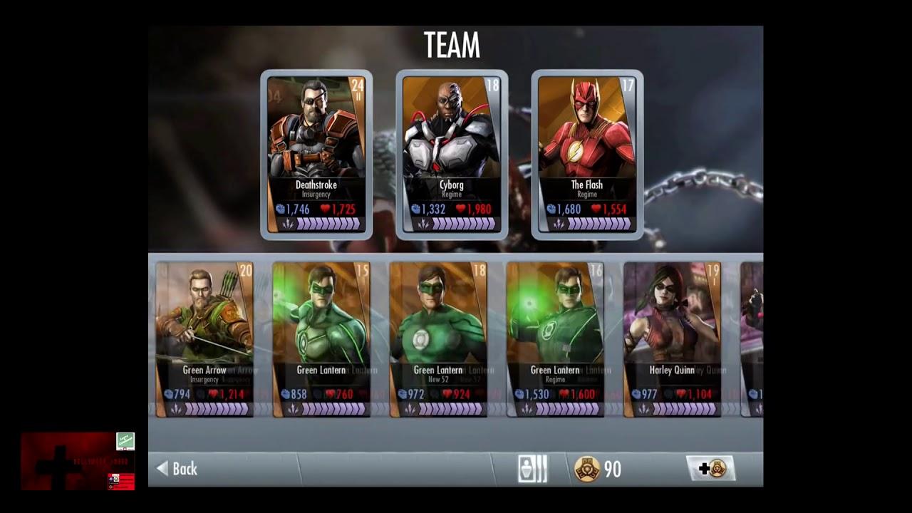 New 52 Black Adam Injustice Card Gods Among Us IOS