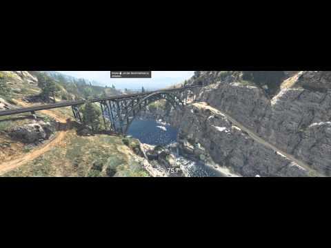 GTA 5 Benchmark @ AMD Fury X @ Lowest Settings @ 4960x1600 PLP Eyefinity