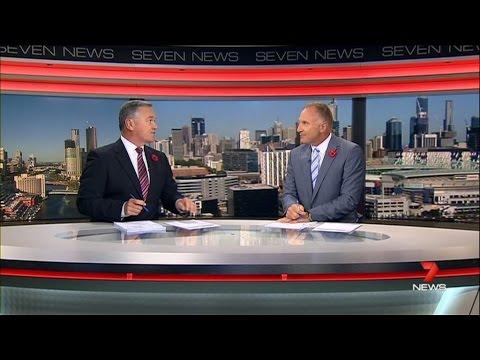 Seven News Melbourne - Montage [11.11.14]
