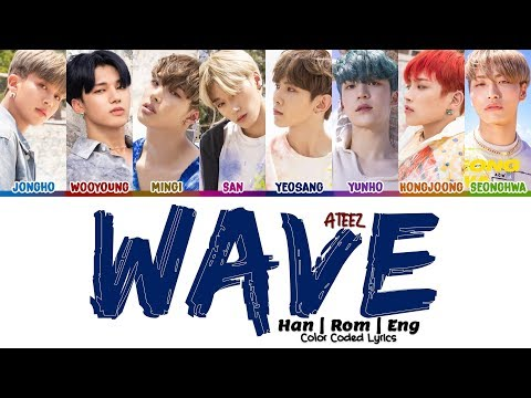 Download ATEEZ 에이티즈 - WAVE Color Coded Han|Rom|Eng s Mp4 baru