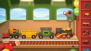 BRIO World - Railway Part 1 - fun train video for kids - Ellie
