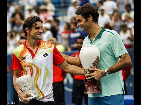Roger Federer downs David Ferrer to capture sixth Cincinnati title