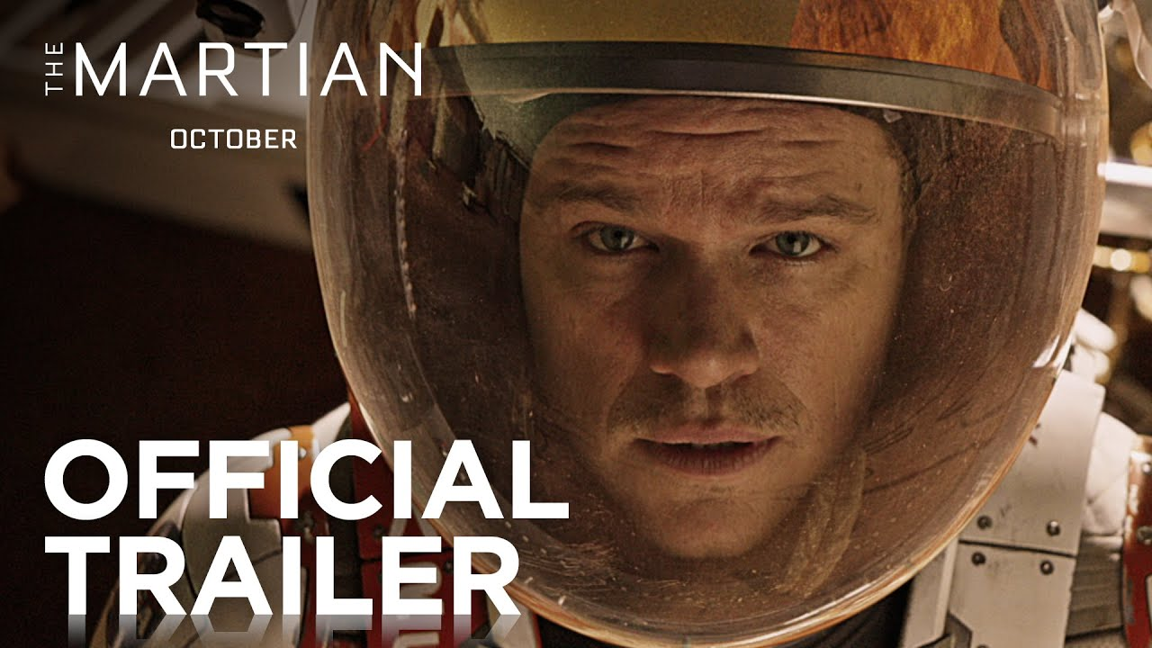 Matt Damon Is The Martian