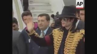 Michael Jackson in Tunisia 7/10/1996 vidéo d'archives - TunisiaFace