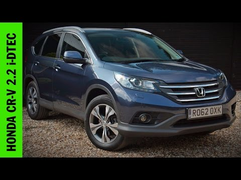 Honda CR-V 2.2 i-DTEC Review