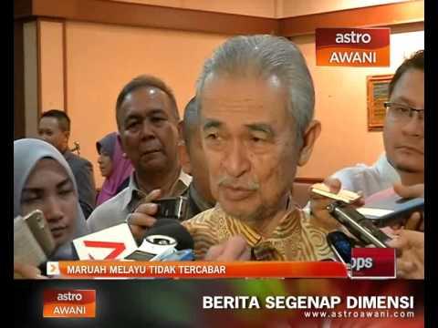Maruah Melayu tidak tercabar - Tun Abdullah Ahmad Badawi