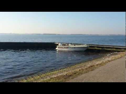 Elan boat waiting patiently