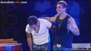 amr mostafa & diab's son singing amr diab.mp4
