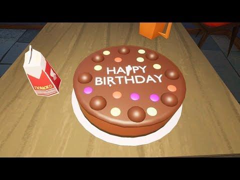HELLO NEIGHBOR BETA 3 BIRTHDAY CAKE