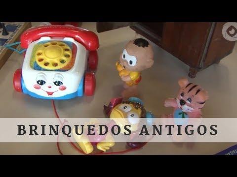 Brinquedos antigos: uma viagem à infância