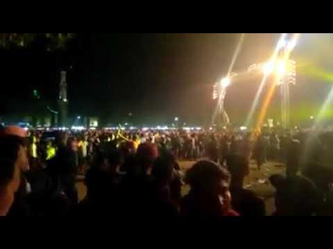 Road to KILAU RAYA MNCTV di alun-alun kajen PEKALONGAN JATENG,Berakhir ricuh