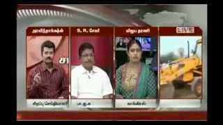Jayalalitha vulgarly scolded by a man in Live TV relay
