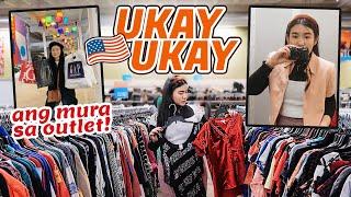 TARA SA UKAY-UKAY 🇺🇸 + MURANG Outlet Stores + DATE With My Subscribers! | Toni Sia