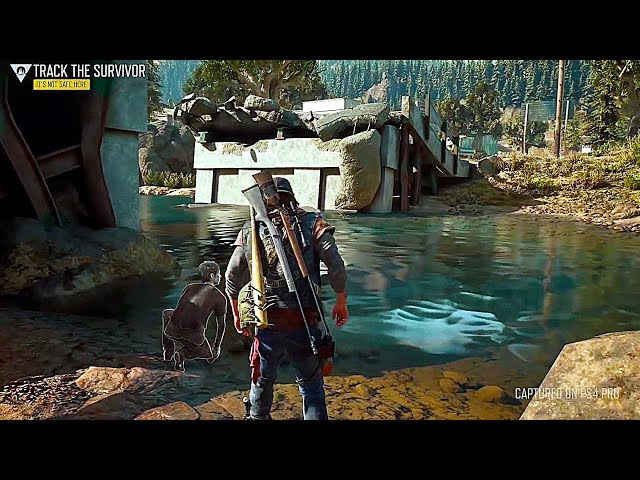 DAYS GONE - 95 Minutes of Gameplay PS4 (2019) Zombie Game thumbnail