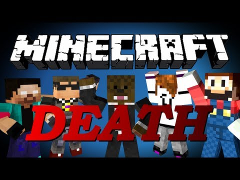 Minecraft Death Run Minigame #2 w/ SkyDoesMinecraft, SethBling, Deadlox, and NoahCraftFTW