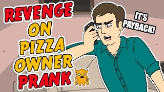 Angry Pizza Owner Prank Call - OwnagePranks