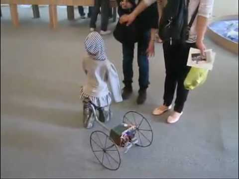 Creepy Child Robot