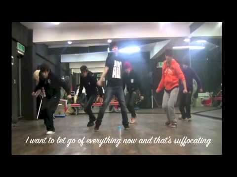 Infinite - Before The Dawn (Dance Practice) [ENG SUB]