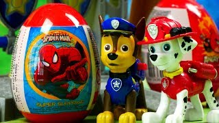 Psi Patrol Amp Jajka Niespodzianki  Bajki Dla Dzieci
