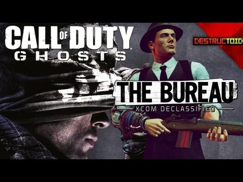 Call of Duty: Ghosts LEAKED BOX ART! The Bureau: XCOM DECLASSIFIED, & More!