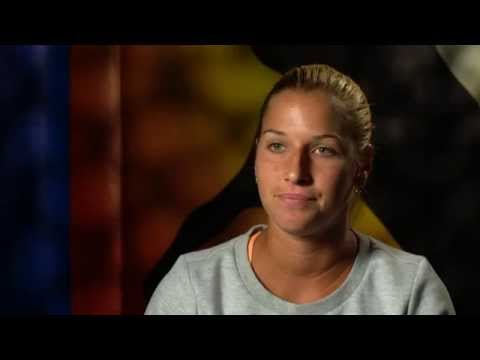 Dominika Cibulkova interview (4R) - Australian Open 2015