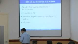 Tọa đàm IRED - Sự hiện diện của KHXH VN trên trường quốc tế -Tập 1