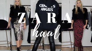 ZARA HAUL AND TRY-ON   DECEMBER 2018