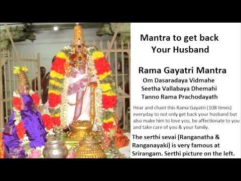 Rama mantra to get back husband thumbnail