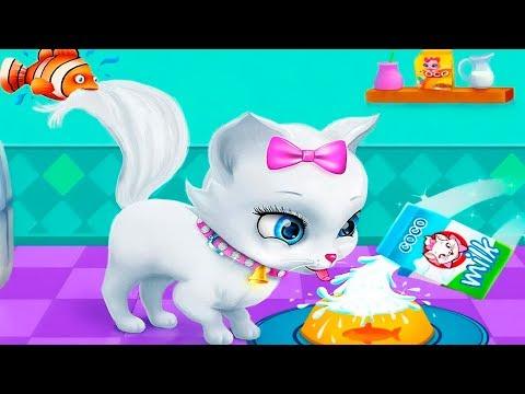 Игровой мультик про котят. Мой виртуальный котнок ПУШИСТИК