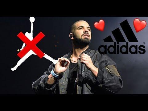 Drake lascia Jordan per Adidas!