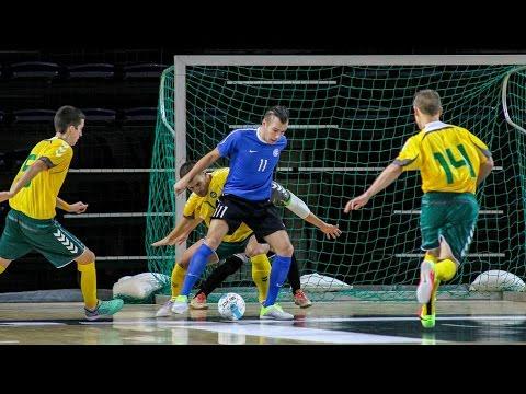 Gruzija 6:3 Estija: (UEFA Futsal 2016 atranka rungtynės, 2015-01-14)