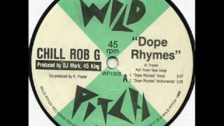 Watch Chill Rob G Dope Rhymes video