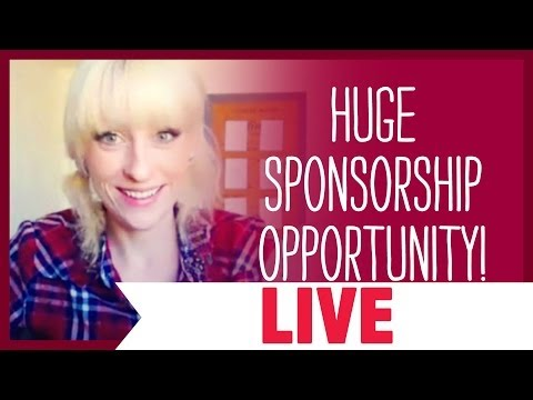 HUGE Sponsorship Opportunity!