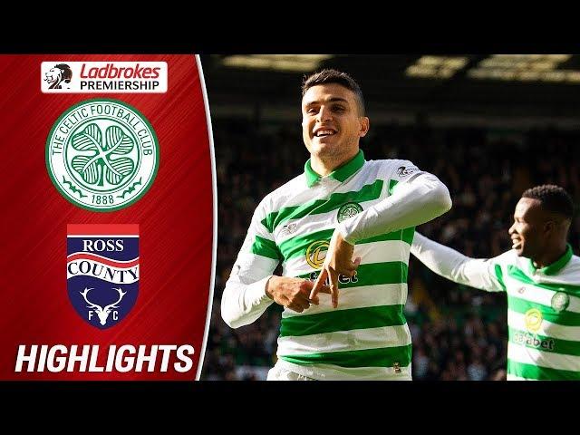 Celtic 6-0 Ross County  Edouard stars as Celts put 6 past Staggies  Ladbrokes Premiership