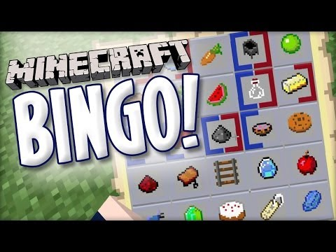 Minecraft BINGO by Lorgon111
