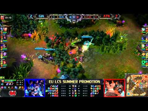 Giants vs Team Alternate Game 5/5 LCS 2013 EU Summer Promotion Matches