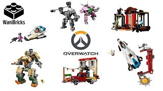 LEGO Overwatch Compilation of All Sets