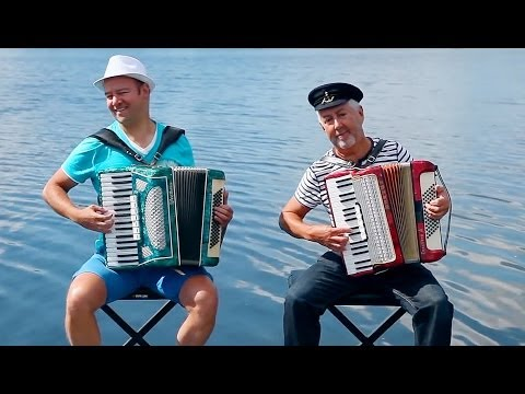 French Accordion Music Valse Musette- Accordeon Duo Jo Brunenberg Huib Hölzken Música Francesa Paris