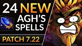 24 NEW Aghanim's UPGRADES - Patch 7.22 BIGGEST BUFFS and NERFS | Dota 2 Patch Analysis
