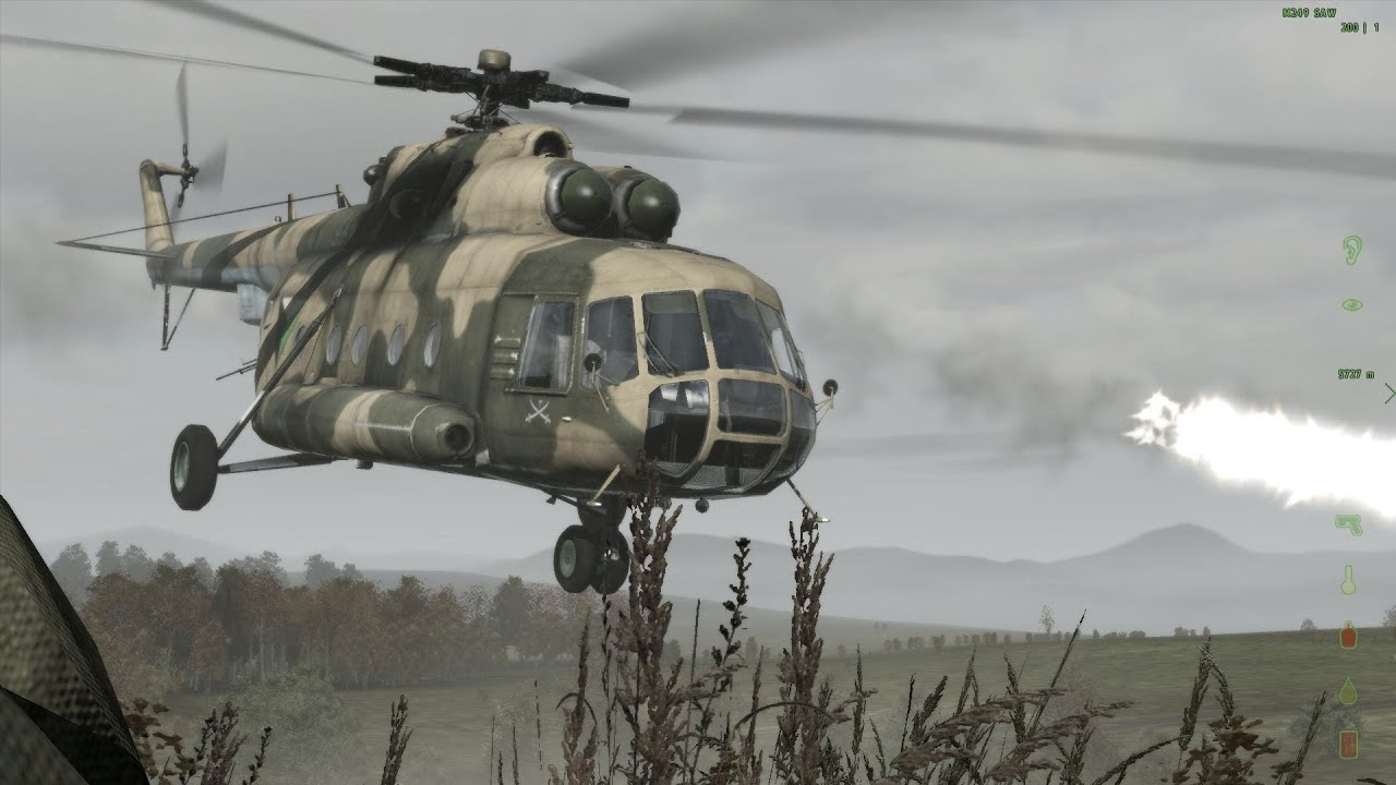 Arma 3 Elicottero : Arma dayz mod quot a day with the helicopter mi