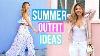 Summer Fashion Lookbook 2016! 5 Outfit Ideas!