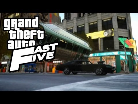 GTA IV Fast Five Intro Remake (First Scene) HD