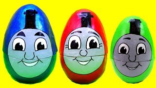 Thomas and Friends Surprise Toys Nesting Eggs! Learn Colors Sizes for Kids Toddlers