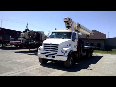 OZ Gas - Lot 316 - 2000 STERLING MODEL LT7501 CRANE TRUCK