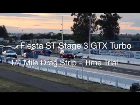 ATP Turbo Fiesta ST Stage 3 GTX Turbo Upgrade: 12.4 sec 1/4 mile pass