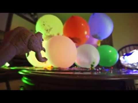Mega Surprise Balloons Go Boom! Hello Kitty, Ninja Turtles, Spiderman, Iron Man, Captain America!