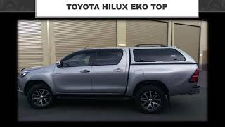 Benefits and options on Toyota Hilux Canopy